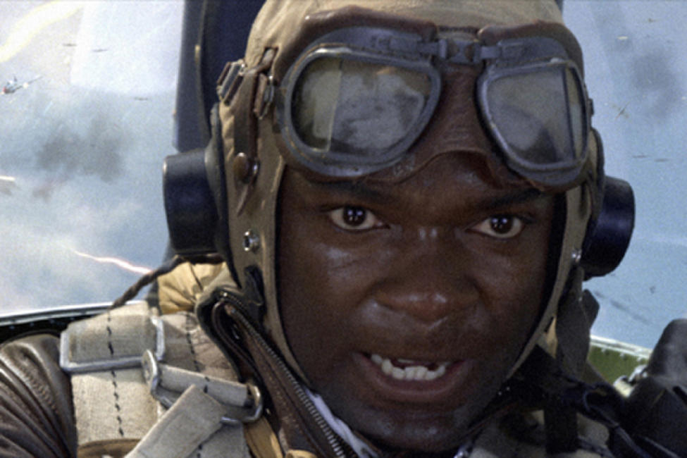 David Oyelowo as Joe 'Lightning' Little in ``Red Tails.''