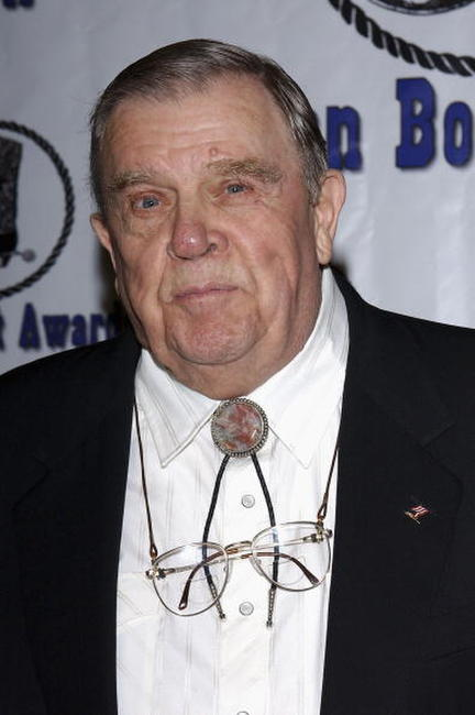 Pat Hingle at the Golden Boot Awards.