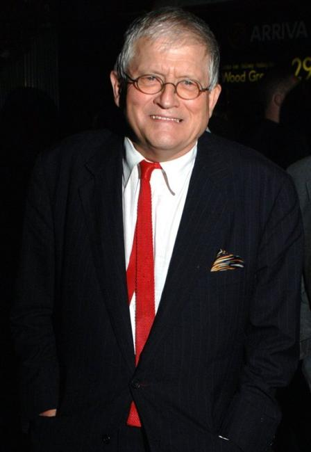 David Hockney at the VIP private viewing party of