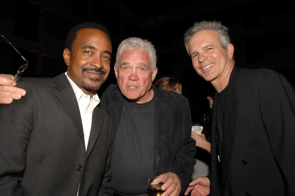 Tim Meadows, G. W. Bailey and Tony Denison at the 2008 Summer TCA Tour Turner Party.