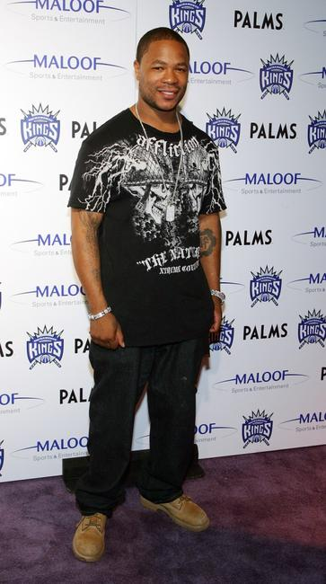 Xzibit at the housewarming party of Sacramento Kings co-owner Gavin Maloof.