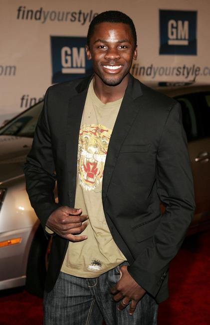 Derek Luke at the General Motors Ten event.