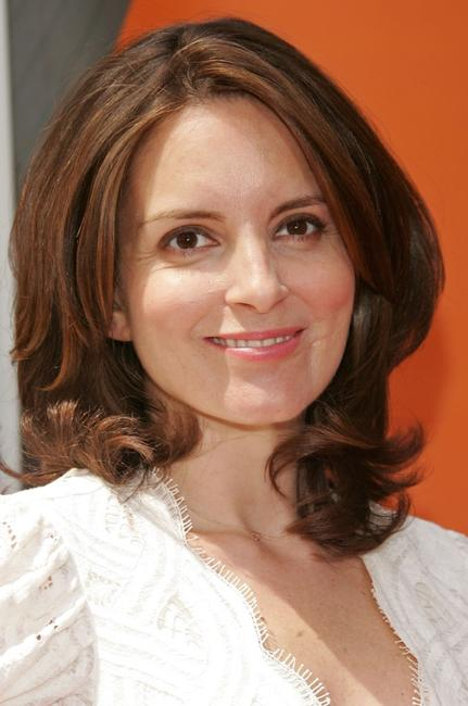 Tina Fey at the NBC Upfronts.