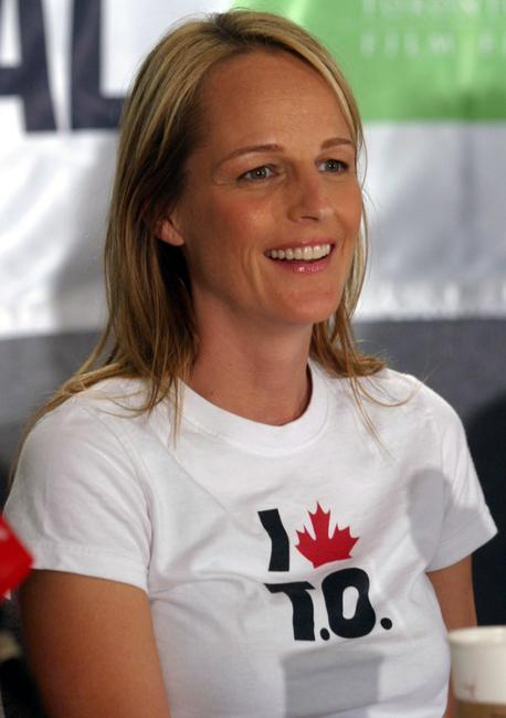 Helen Hunt at the Toronto International Film Festival press conference of