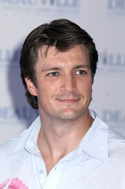 Nathan Fillion at the photocall of