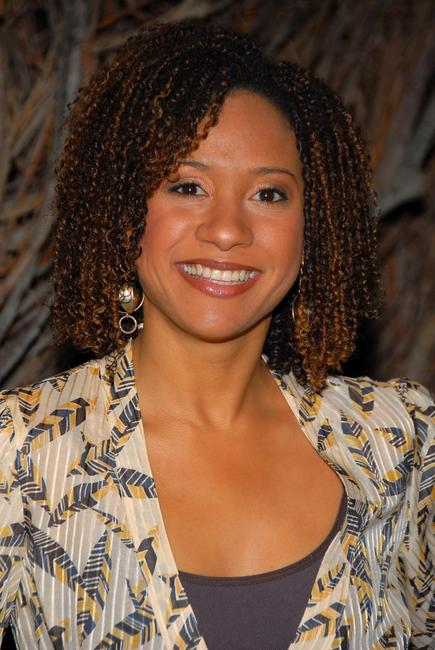 Tracie Thoms at the launch of H.E.L.P. Malawi.