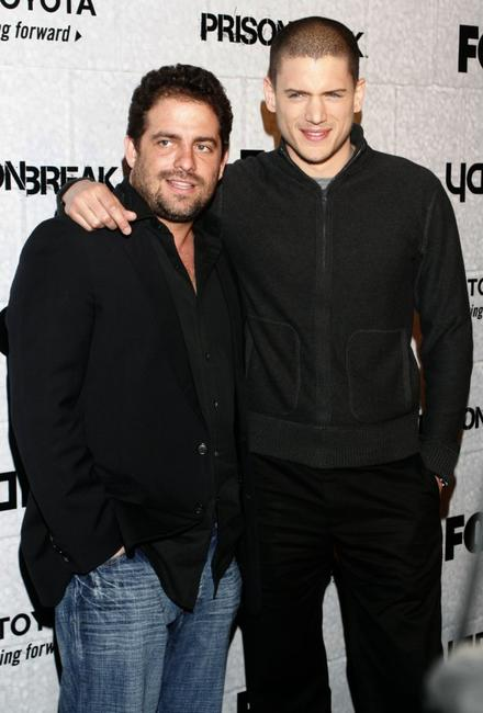 Brett Ratner and Wentworth Miller at the