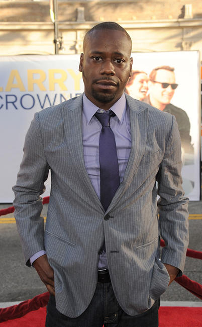 Malcolm Barrett at the California premiere of