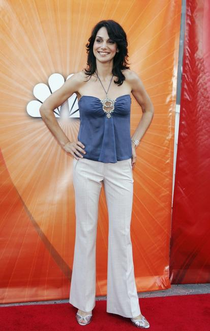 Annie Parisse at the NBC's