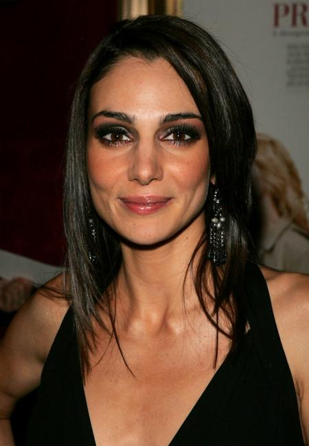 Annie Parisse at the premiere of