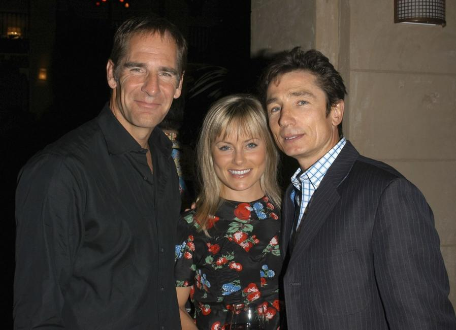 Scott Bakula, Jilana Stewart and Dominic Keating at the