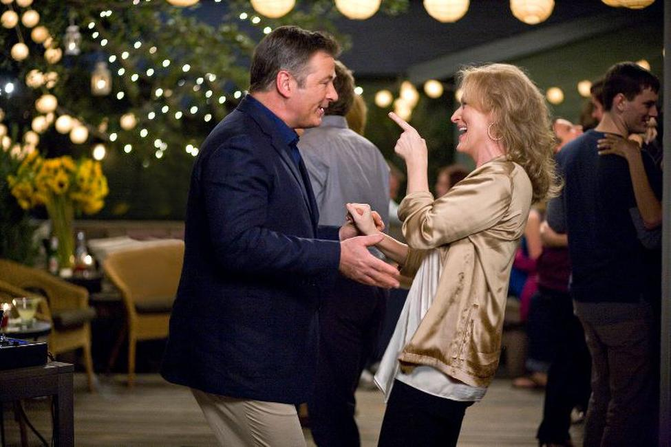 Alec Baldwin and Meryl Streep in