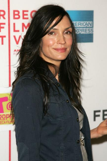 Famke Janssen at the Tropfest during the 5th Annual Tribeca Film Festival.
