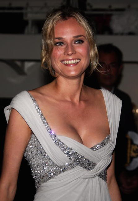 Diane Kruger at the 64th Venice Film Festival: Alberta Ferretti Boat Party.