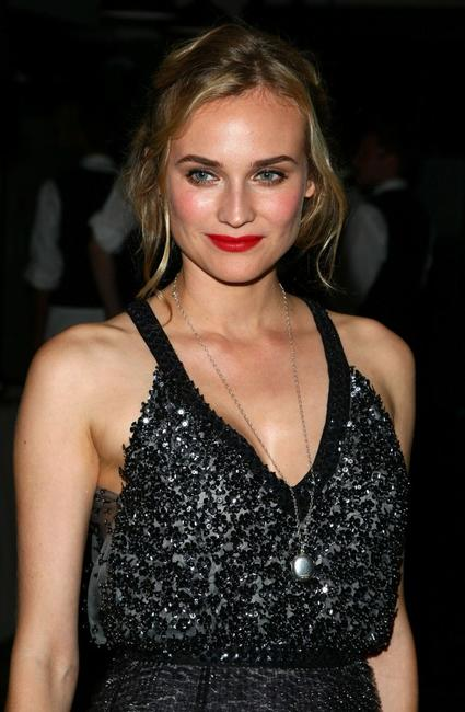 Diane Kruger at the after party of the Cinema Society & Hugo Boss screening of