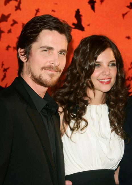 Christian Bale at an press conference in Tokyo to promote