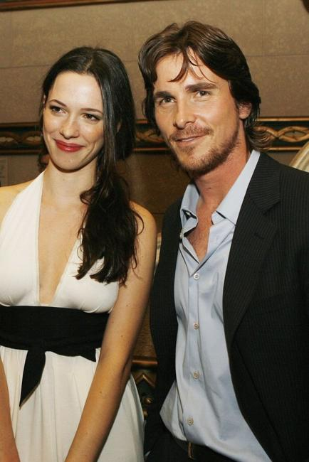 Rebecca Hall and Christian Bale at the after party of the premiere of