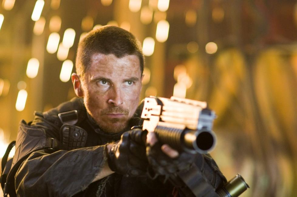 Christian Bale as John Connor in
