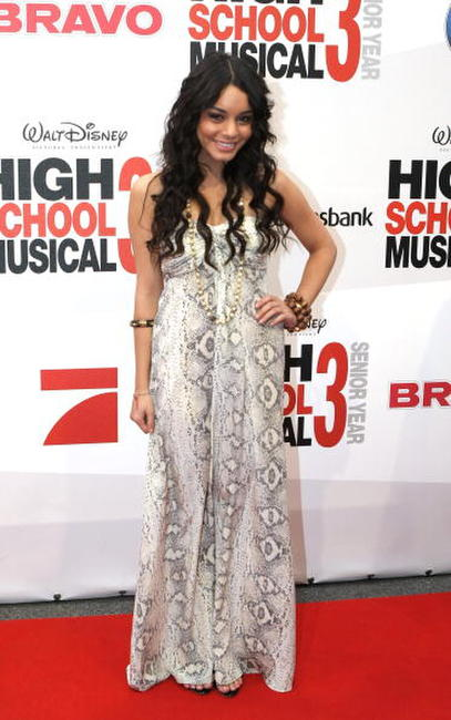 Vanessa Hudgens at the German premiere of