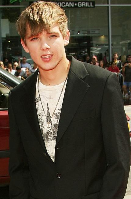 Max Thieriot at the premiere of