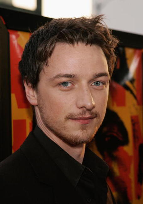 James McAvoy at the Hollywood premiere of