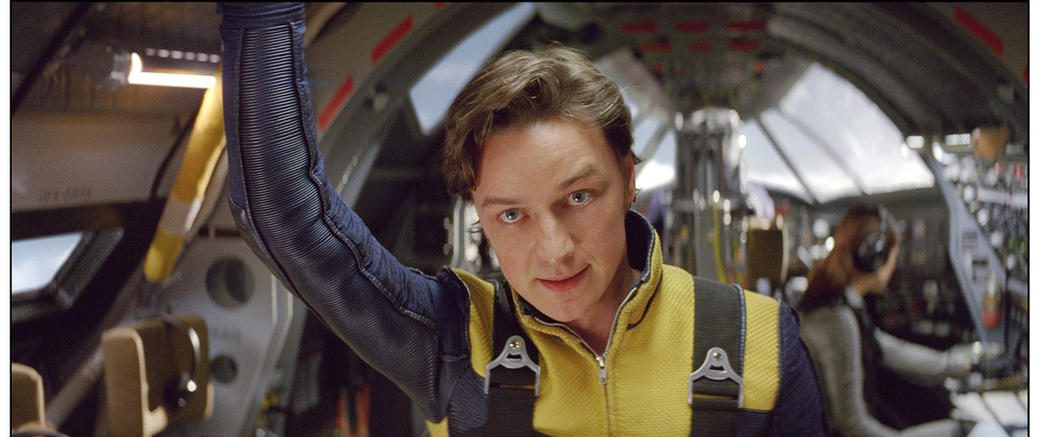 James McAvoy as Charles Xavier in