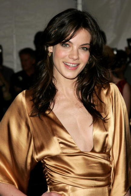 Michelle Monaghan at the Metropolitan Museum of Art Costume Institute Benefit Gala: Anglomania at the Metropolitan Museum of Art.