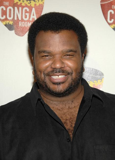 Craig Robinson at the grand opening of Conga Room.