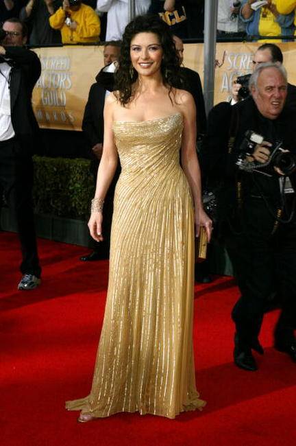 Catherine Zeta-Jones at the 10th Annual Screen Actors Guild Awards.