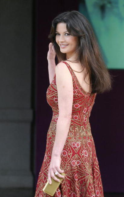 Catherine Zeta-Jones in Rome.