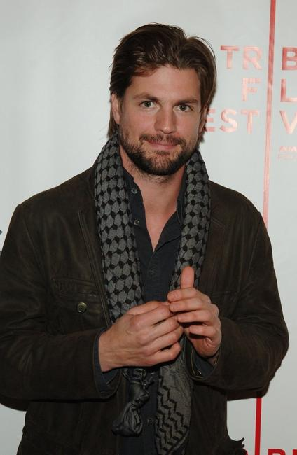 Gale Harold at the premiere of