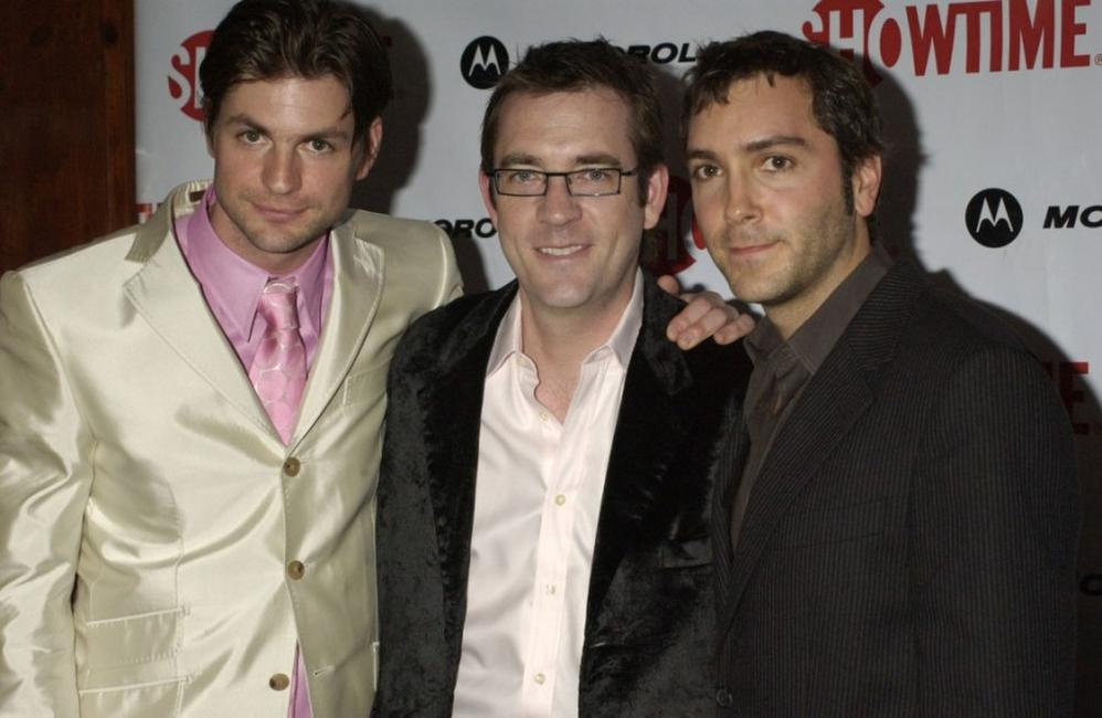 Gale Harold, Ted Allen and Scott Lowell at the premiere of
