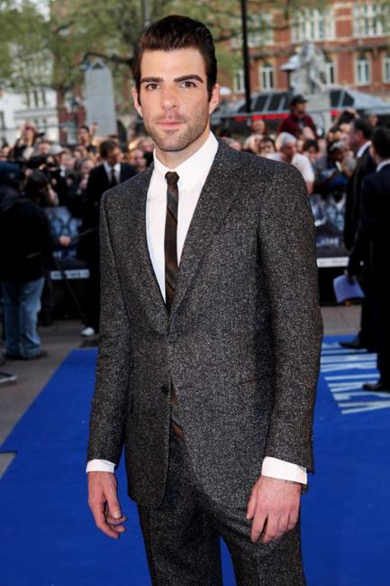 Zachary Quinto at the UK premiere of