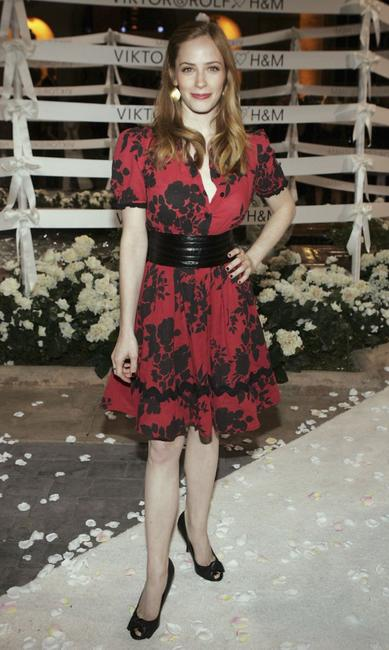 Jaime Ray Newman at the H&M celebrates Viktor & Rolf collection with Wedding and fashion show.