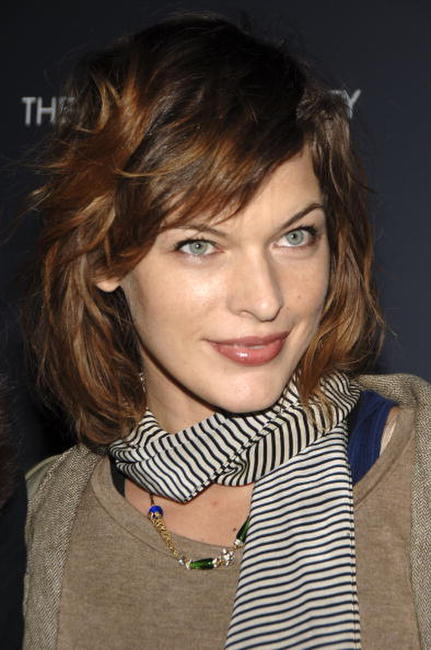 Milla Jovovich at a special screening of