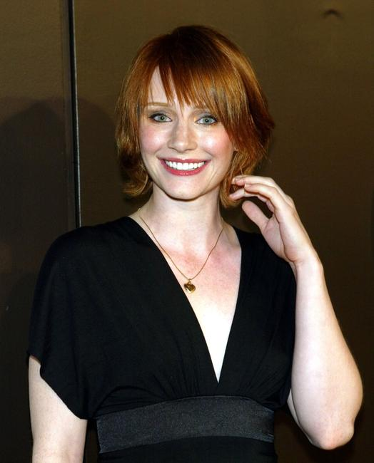 Bryce Dallas Howard at the GQ Magazine's 2004 Men of the Year celebration.