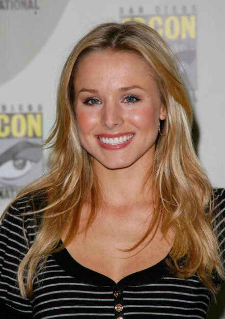 Kristen Bell at the press panel during the 2007 Comic-Con in San Diego.