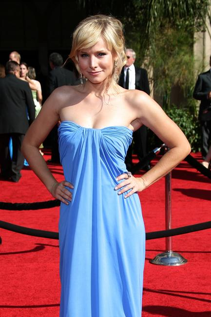 Kristen Bell at the 59th Annual Primetime Emmy Awards in Los Angeles.