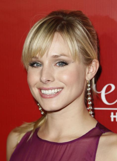 Kristen Bell at the Frederick's Of Hollywood Spring 2008 Collection debut in Los Angeles.