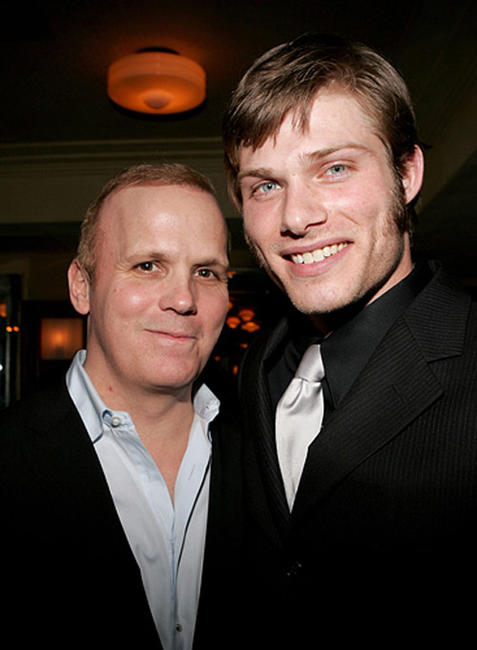 Director Scott Ellis and Chris Carmack at the opening night of