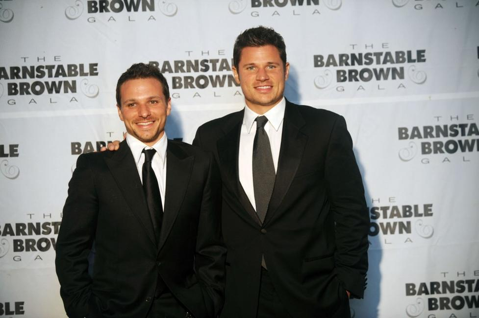 Drew and Nick Lachey at the Barnstable Brown Kentucky Derby Eve Gala.