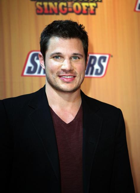 Nick Lachey at the finals of Snickers