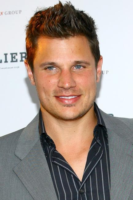 Nick Lachey at the grand opening of the new residential building