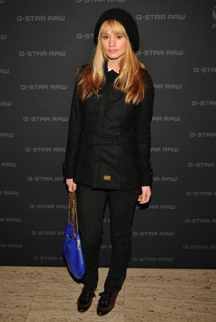 Cameron Richardson at the G Star Fall 2008 fashion show during Mercedes-Benz Fashion Week Fall.