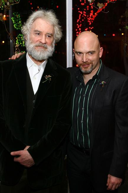Kevin Kline and Michael Cerveris at the post-performance party of the opening night of King Lear.