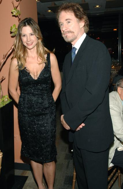 Kevin Kline and Mira Sorvino at the premiere of
