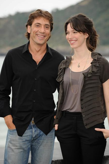 Javier Bardem and Rebecca Hall at the San Sebastian International Film Festival.
