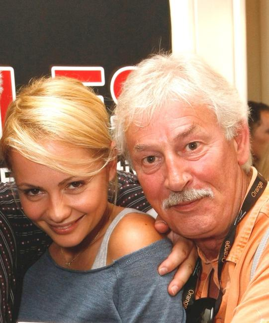 Beatrice Rosen and David Ball at the Welsh Pavillion Party during the 61st International Cannes Film Festival.