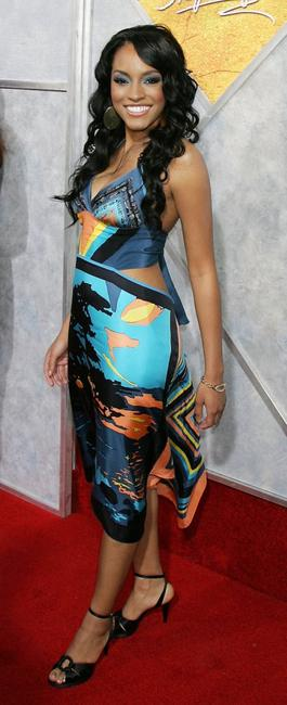 Drew Sidora at the premiere of