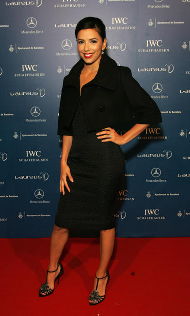 Eva Longoria Parker at the Laureus Welcome Party in Barcelona, Spain.